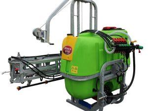 Opryskiwacze zawieszane marki Tolmet składane mechanicznie